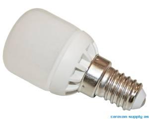 Bilde av Lyspære E14 LED 200 lumen 1W (15W) 230V 30x62mm