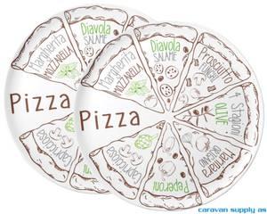 Bilde av Serveringsfat Brunner Pizza Ø37,5cm 2stk