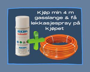 Bilde av Gasslange combo ø10mm 1m